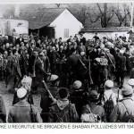 Rekrutimi ne brigaden e Shaban Polluzhes, viti 1943