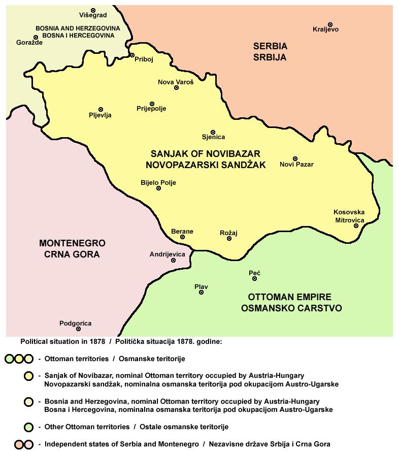 The Kosovo Vilayet Kosova pr Sanxhakun
