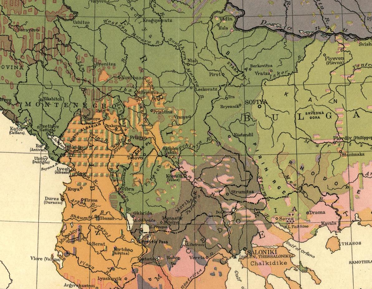 Harta e Cvijiqit