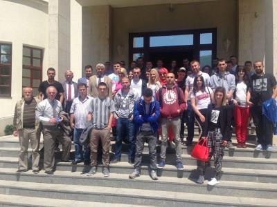 Studentët e Sanxhakut në Prizren