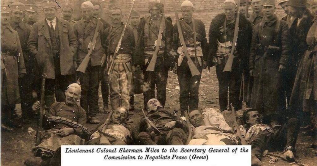 Në foto Milliq Kërrsta, një kirmnil famëkeq serb i cili kishte vrarë shumë patriotë shqiptarë që kundërshtonin regjimin serb, sidomos në rajonin e Dukagjinit, gjatë viteve 1919-1935