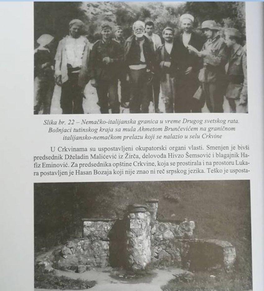 """Pamje nga """"Kufiri gjermano-italian në kohën e Luftës së Dytë Botërore."""