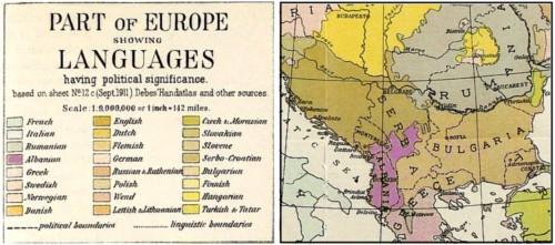 harta etnike