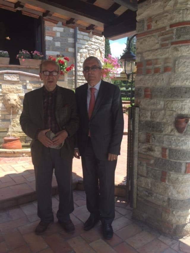 Ismail Kadare dhe Shaban Murati, vjeshte 2019